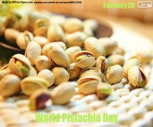 puzzel Wereld Pistache Dag