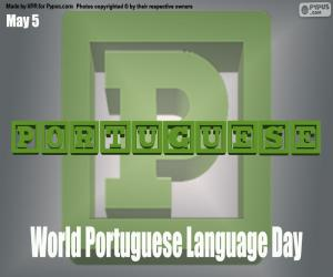 puzzel Wereld Portugese Taaldag