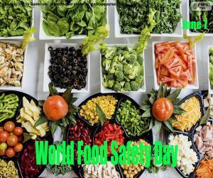 puzzel Wereld voedselveiligheidsdag
