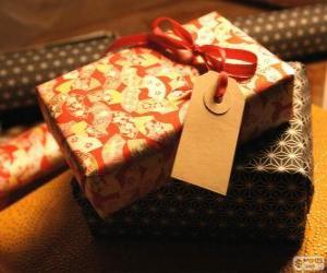 puzzel Wie is de gift voor?