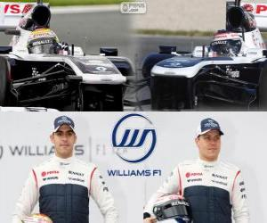 puzzel Williams F1 Team 2013