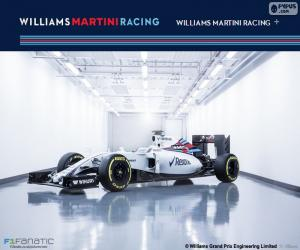 puzzel Williams F1 Team 2016