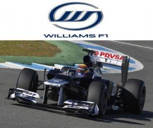 puzzel Williams FW34 - 2012 -