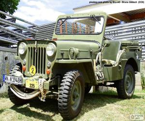 puzzel Willys MB