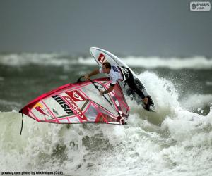 puzzel Windsurfen wave