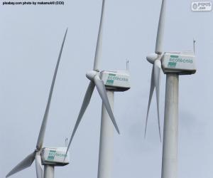 puzzel Windturbines