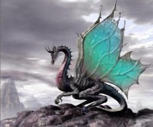 puzzel Winged dragon