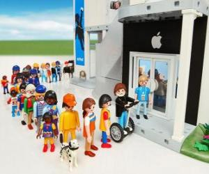 puzzel Winkel Apple Playmobil