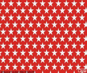 puzzel Witte sterren