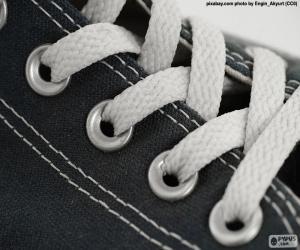 puzzel Witte veters