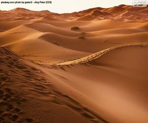 puzzel Woestijn van Marokko