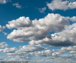 puzzel Wolken