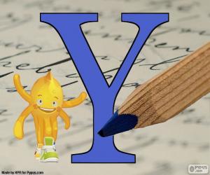 puzzel Ypsilon Griekse Letter