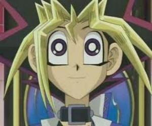 puzzel Yugi Moto of  Yugi Muto is de jongen protagonist van de eerste avonturen van Yu-Gi-Oh!