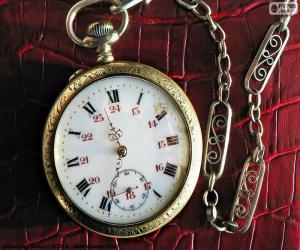 puzzel zak horloge
