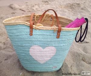 puzzel Zak voor het strand