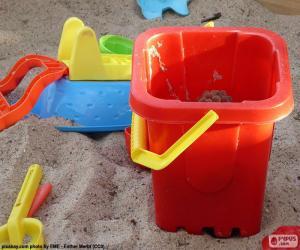 puzzel Zand speelgoed