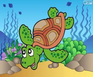 puzzel Zeeschildpad