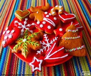 puzzel Zelfgemaakte kerstkoekjes