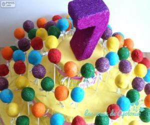 puzzel Zevende verjaardag