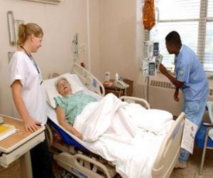 puzzel Ziekenhuiskamer