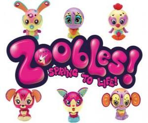 puzzel Zoobles Logo