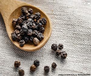 puzzel Zwarte peper