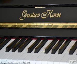 puzzel Zwarte piano