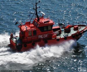 puzzel Zweedse loodsboot