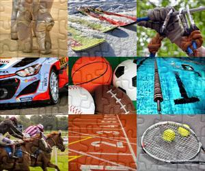Sporten en Avontuur leguzzels