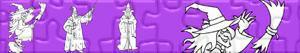 Puzzles de Heksen en Tovenaars