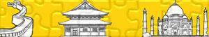 Puzzles de Monumenten en andere bezienswaardigheden in Azië