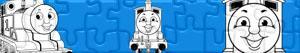 Puzzles de Thomas de stoomlocomotief