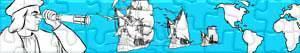 Puzzles de Christoffel Columbus - Ontdekking van Amerika