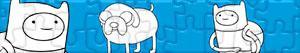 Puzzles de Adventure Time - Tijd voor Avontuur