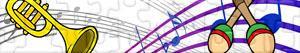 Puzzles de Muziekinstrumenten