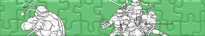 Puzzles de Ninja Turtles
