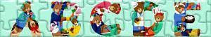 Puzzles de Letters met beren