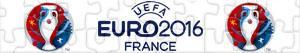 Puzzles de UEFA EURO 2016 Frankrijk