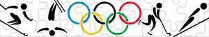 Puzzles de Olympische Winterspelen